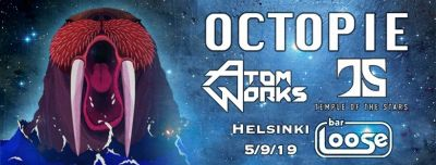 Octopie, Atom Works & Temple of the Stars @ Bar Loose